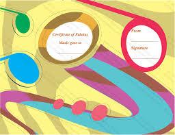 is art award certificate template