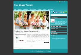 free blogger templet png