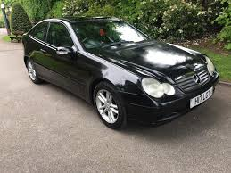2001 p plate mercedes c220 cdi coupe 6 speed manual in stockport
