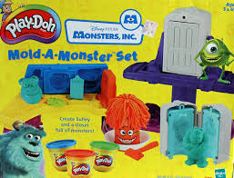 amazon play doh disney pixar monsters mold monster