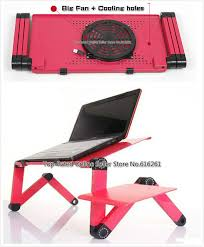Laptop Cooling Desk Ergonomic Laptop Cooling Table Stand For Bed Portable Sofa Laptop