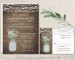 wedding invitations kent jar wedding invitations suite rustic country