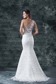 lace one shoulder wedding dress 2018 made one shoulder mermaid lace wedding dresses