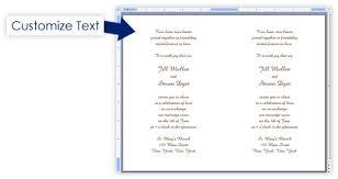 Blank Wedding Program Templates Event Program Template Event Agenda Template Download Free