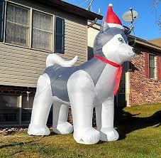 terrific blow up christmas decorations amazing design amazon com