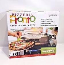 stovetop pizza oven pizzacraft pronto pizzeria stovetop pizza oven maker indoor pc0600