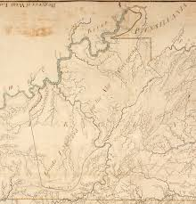Ohio River Valley Map The Proclamation Line Of 1763