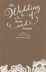 vista print wedding programs personalized invitations announcements designs programs