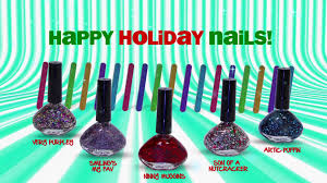 five below funky fingers holiday nail polish collection youtube