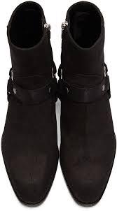 harness boots black suede wyatt harness boots men u0027s fashion
