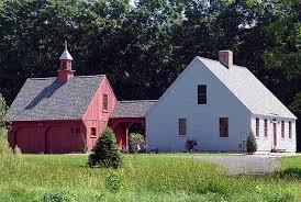 Carriage House Plans Building A Garage by White House Red Garage Garage Ideas Pinterest Breezeway