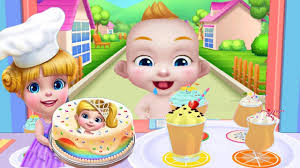 real cake maker tabtale baking cake yummy frosting game for