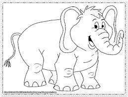 elephant coloring pictures book design 9355 unknown