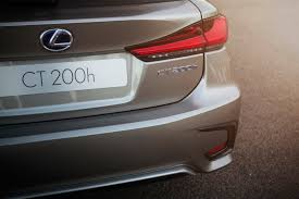 lexus ct200h year to year changes facelifted lexus nx and ct going to frankfurt for their european