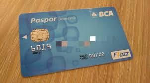 bca gold card 8 macam kartu atm bca paspor bca bank sentral