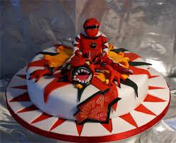 red power ranger cake power ranger cake birthday cakes