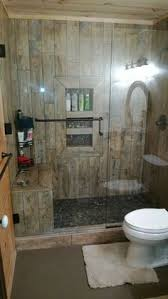 Rustic Cabin Bathroom - rustic cabin bathroom with a shower make mine rustic pinterest