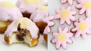 flower doughnuts recipe tastemade