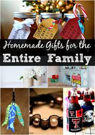 diy christmas gift ideas for the entire family u2013 over 30 ideas for