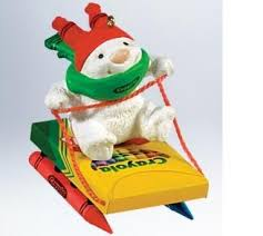 78 best hallmark ornaments crayola images on crayons
