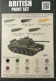 first use of colours of war paints ww2 wargaming blog