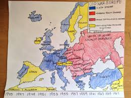 Cold War Map Of Europe by Europe Cold War Thinglink