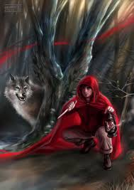 red riding hood big bad wolf daekazu deviantart