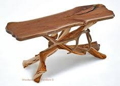 Driftwood Sofa Table by Handcrafted Log Sofa Table By The Artisans Of Woodland Creek