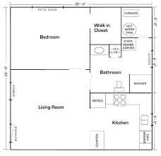 Mother In Law Suite Pods 20 U0027x20 U0027 Apt Floor Plan Mother In Law Suite Picture Gallery