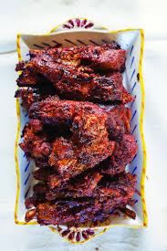 hoisin and ginger spareribs spicy sauce pork and spicy