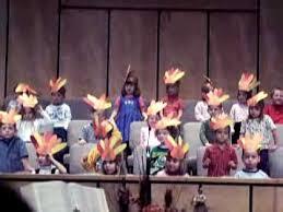 miranda preschool thanksgiving program 2004