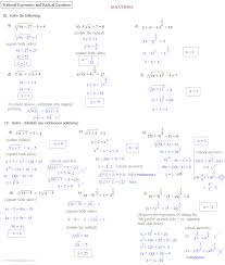 Solving Equations By Factoring Worksheet Kuta Software Infinite Algebra 2 Rational Exponent Equations