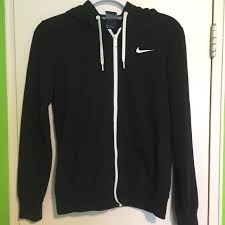 nike sweaters 80 nike sweaters nike black zip up hoodie from britt s