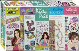 girl bracelet maker images Ekta 5 in 1 party pack a complete gift set for girls buy online jpeg