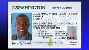 New wa driver license and identification cards