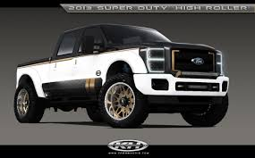 concept ford truck sema ford super duty show truck lineup the fast lane truck