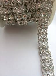 rhinestone bands 42 best rhinestone trim images on bridal sash belt