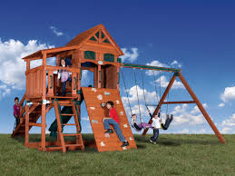 backyard adventures olympian treehouse 4 outdoor playsets