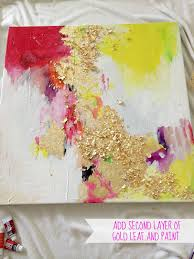 livelovediy how to make gold leaf art round two