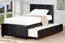 Leather Daybed With Trundle Trundle Twin Bed Leather Great Idea Trundle Twin Bed U2013 Twin Bed
