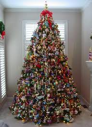 Christmas Tree Theme Decorations Room Decor Decorated Christmas Tree Themes Learning About