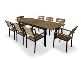 urban furnishings 9 piece extendable outdoor dining set u0026 reviews
