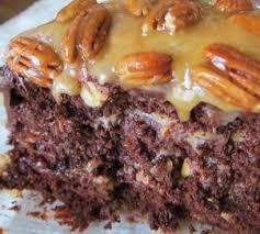 homemade chocolate turtle cake 78recipes