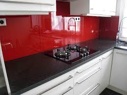 crédence verre trempé cuisine verre trempé laque sur mesure verre trempé sur mesure