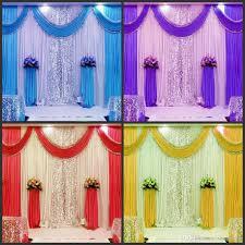 wedding backdrop design philippines 3m 6m wedding backdrop swag party curtain celebration stage