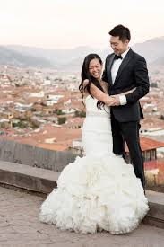 peruvian wedding dresses peruvian museum wedding junebug weddings
