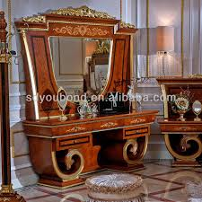 Europe Classical Bedroom Furniture Dresser And MirrorAntique - High quality bedroom furniture
