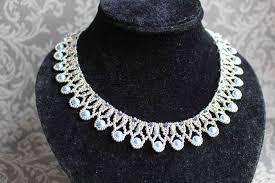 tutorial pearl necklace images Tutorial for necklace 39 pearl drop 39 english trinkets beading JPG