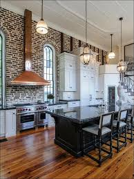 kitchen with brick backsplash faux brick backsplash in kitchen white tile interior look