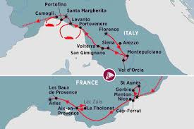 France On The World Map by Splendours Of Italy U0026 Southern France Italy Tours Peregrine
